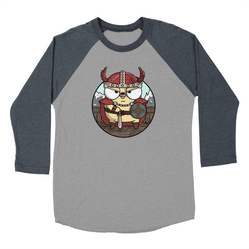 Viking Gopher Women's Baseball Triblend Longsleeve T-Shirt by Women Who Go