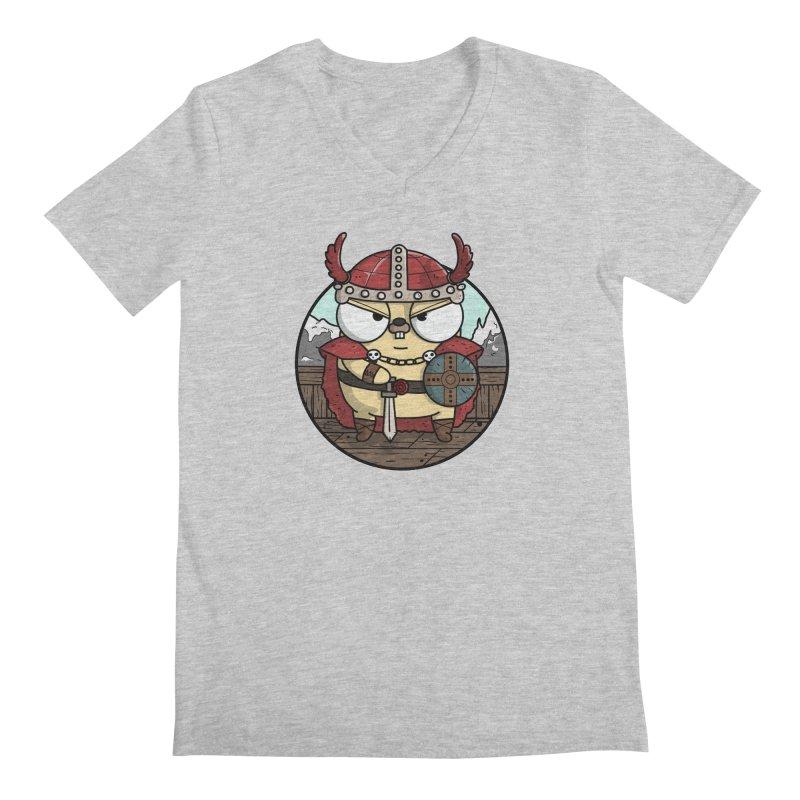 Viking Gopher Men's V-Neck by Women Who Go