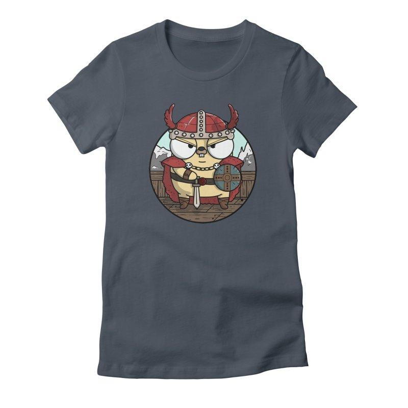 Viking Gopher Women's T-Shirt by Women Who Go