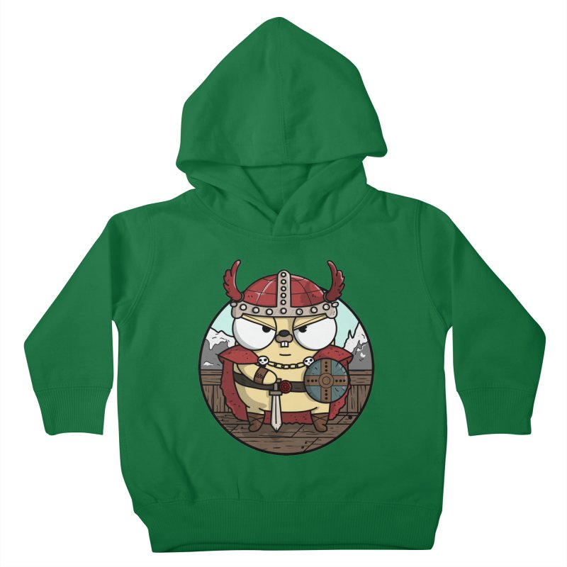 Viking Gopher Kids Toddler Pullover Hoody by Women Who Go