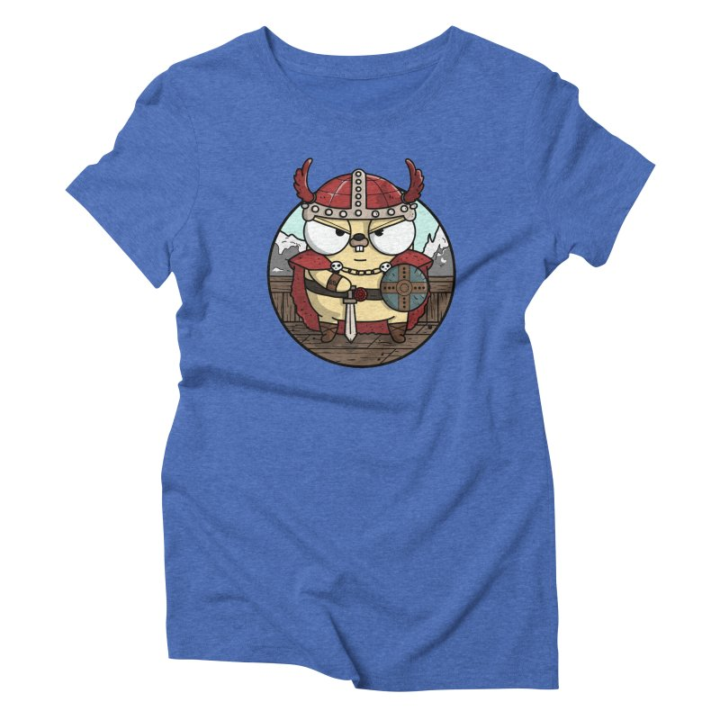 Viking Gopher Women's Triblend T-Shirt by Women Who Go