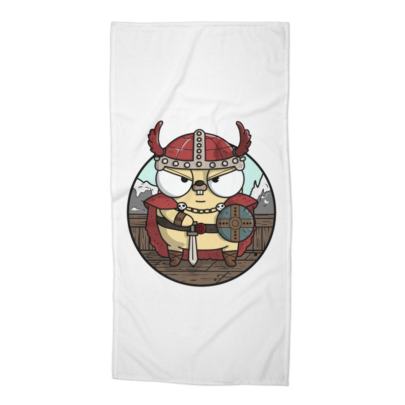 Viking Gopher Accessories Beach Towel by Women Who Go