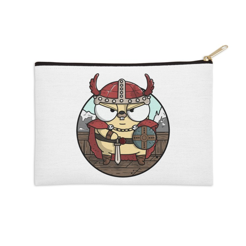 Viking Gopher Accessories Zip Pouch by Women Who Go