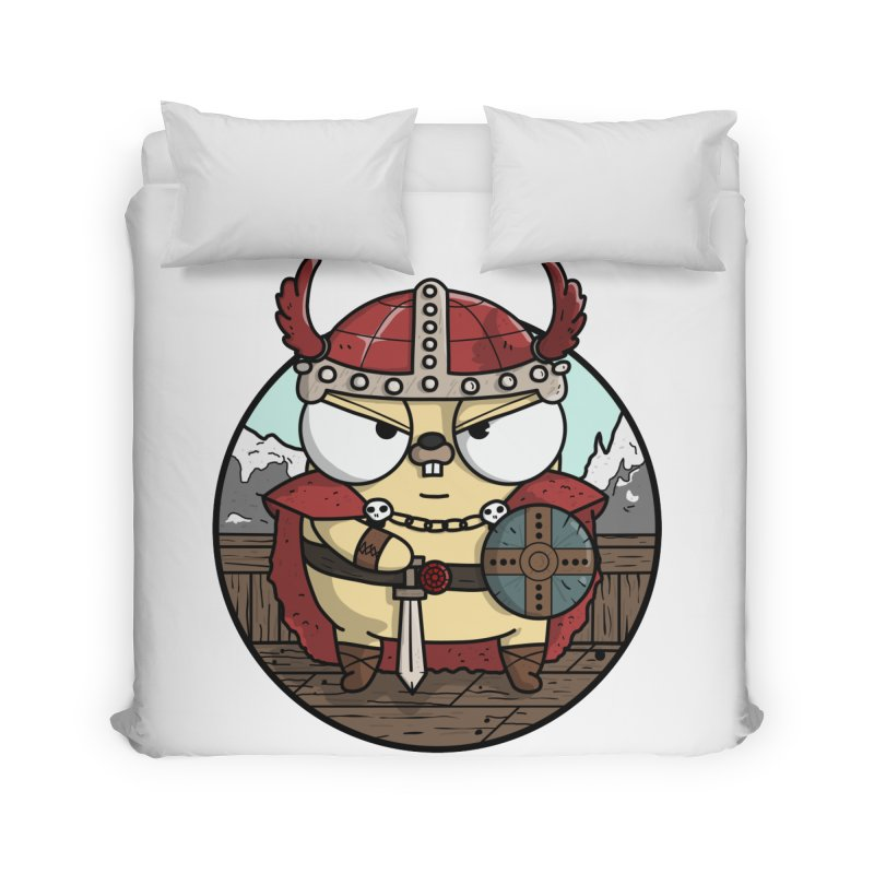 Viking Gopher Home Duvet by Women Who Go