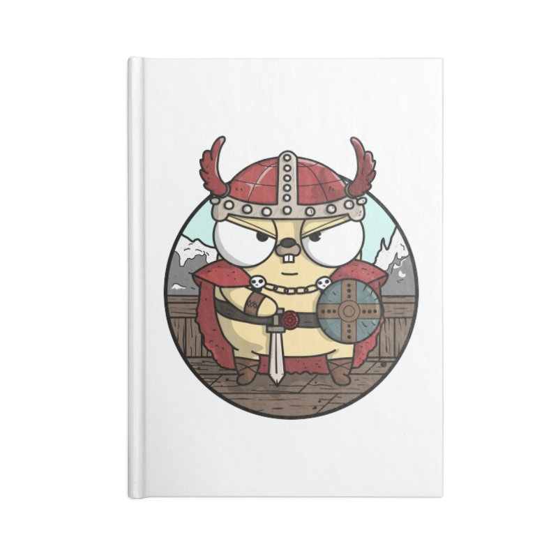 Viking Gopher Accessories Lined Journal Notebook by Women Who Go
