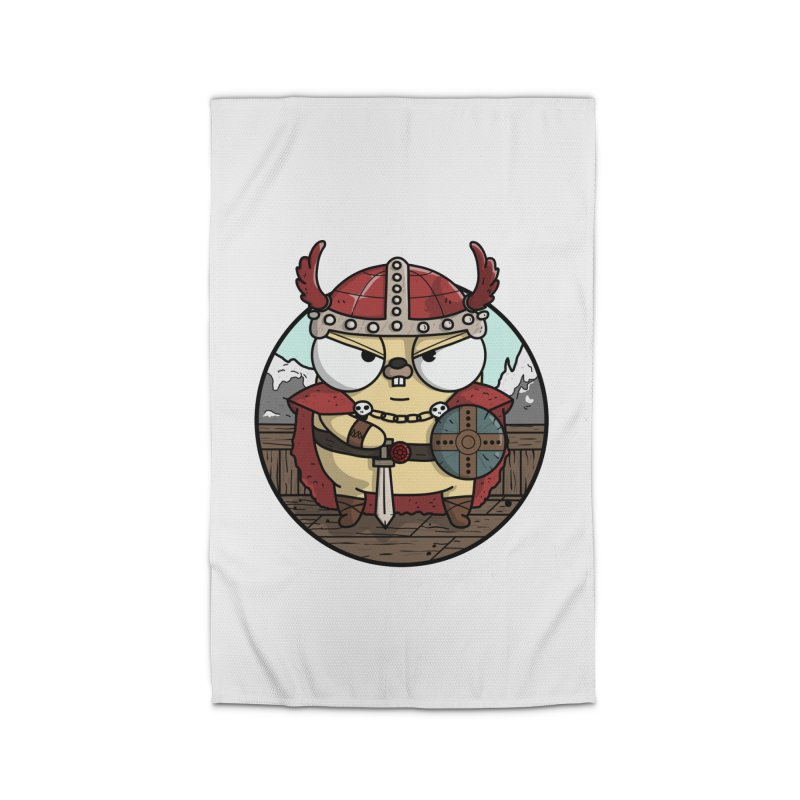 Viking Gopher Home Rug by Women Who Go