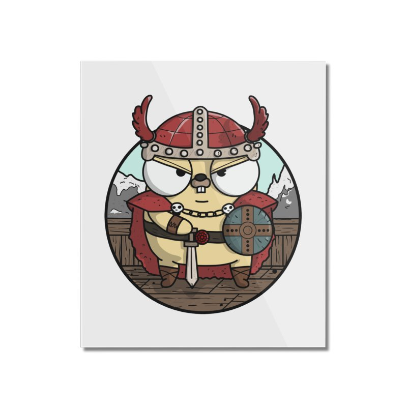 Viking Gopher Home Mounted Acrylic Print by Women Who Go