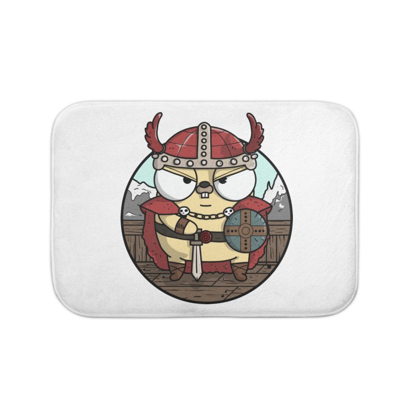 Viking Gopher Home Bath Mat by Women Who Go