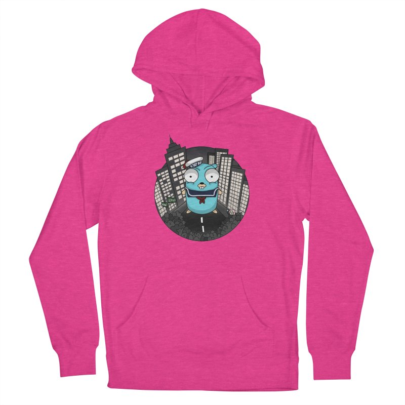 StayPuft Gopher Men's French Terry Pullover Hoody by Women Who Go