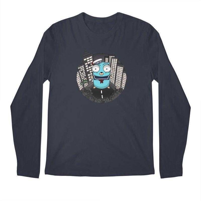 StayPuft Gopher Men's Regular Longsleeve T-Shirt by Women Who Go