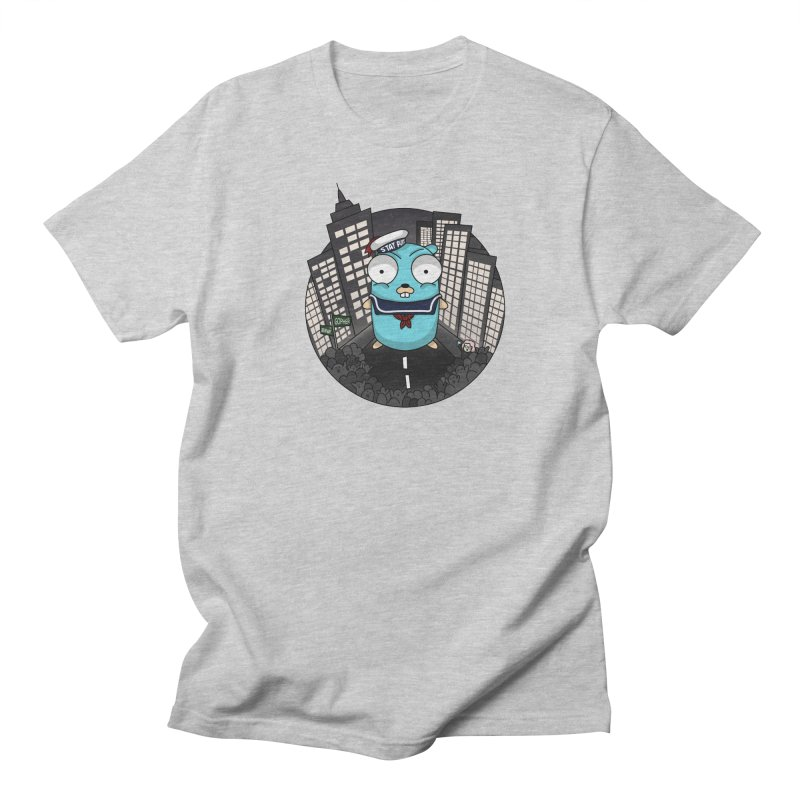 StayPuft Gopher Men's Regular T-Shirt by Women Who Go
