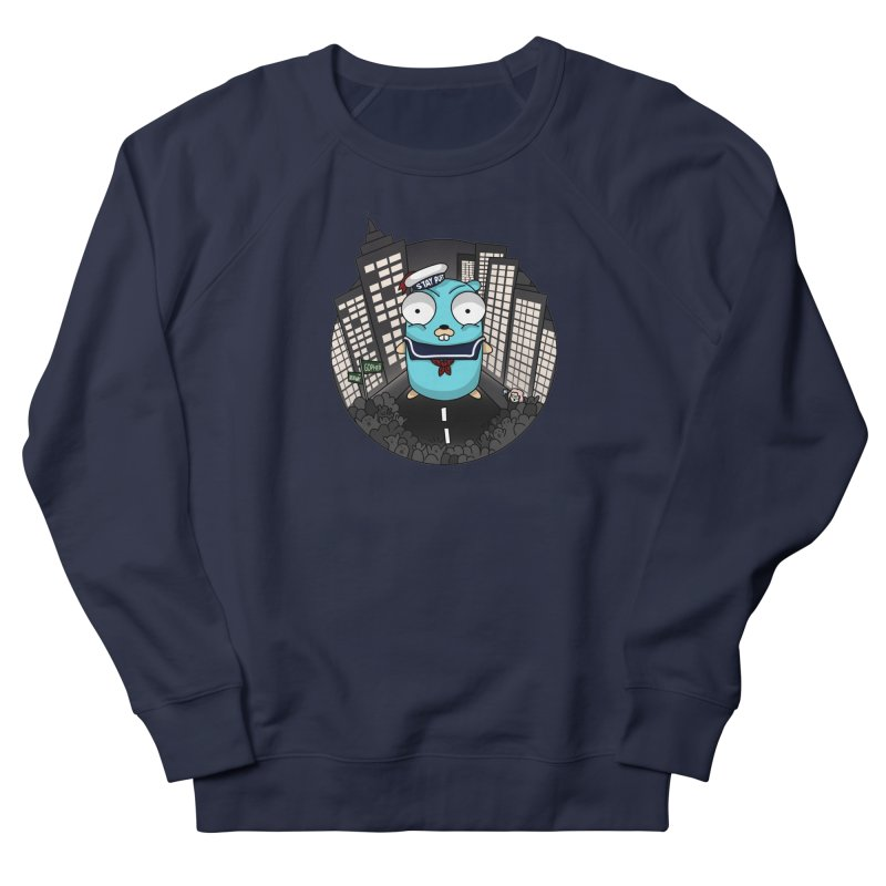 StayPuft Gopher Men's French Terry Sweatshirt by Women Who Go