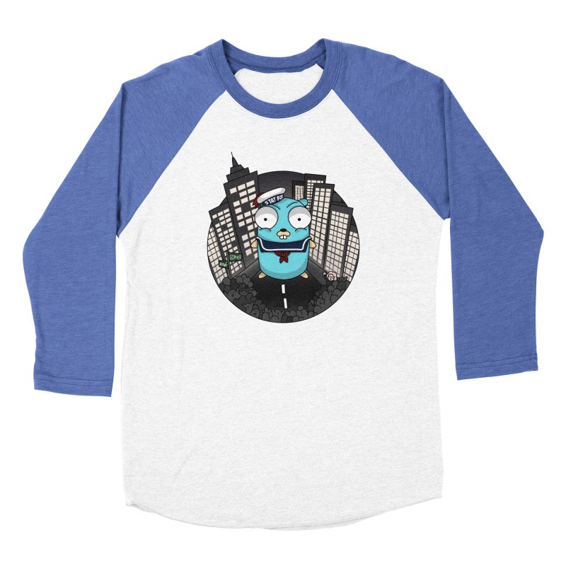 StayPuft Gopher Women's Baseball Triblend T-Shirt by Women Who Go