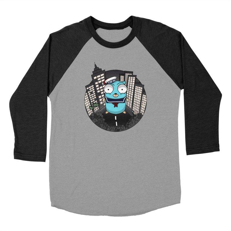 StayPuft Gopher Women's Baseball Triblend Longsleeve T-Shirt by Women Who Go