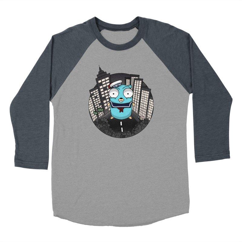 StayPuft Gopher Men's Baseball Triblend T-Shirt by Women Who Go