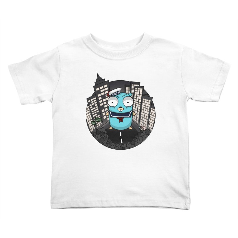 StayPuft Gopher Kids Toddler T-Shirt by Women Who Go