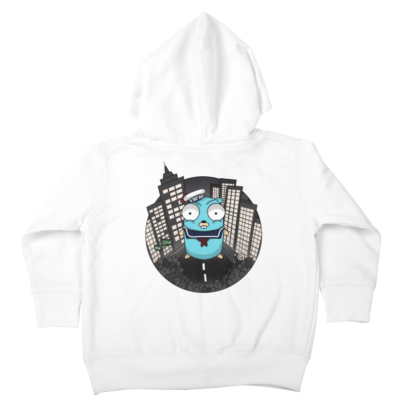 StayPuft Gopher Kids Toddler Zip-Up Hoody by Women Who Go