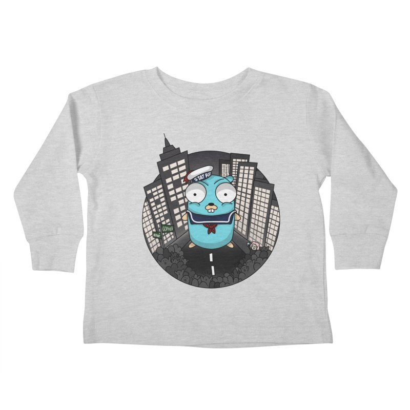StayPuft Gopher Kids Toddler Longsleeve T-Shirt by Women Who Go