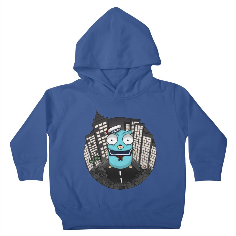 StayPuft Gopher Kids Toddler Pullover Hoody by Women Who Go