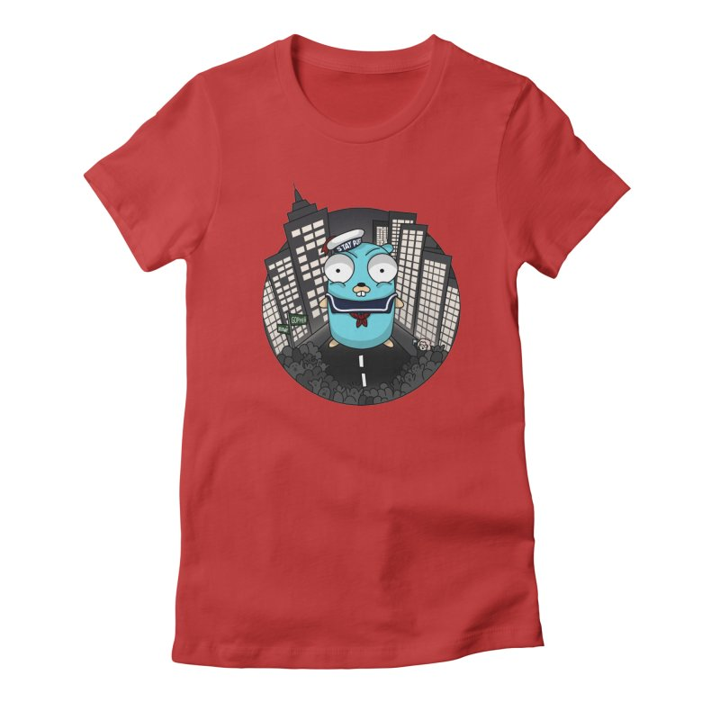 StayPuft Gopher Women's T-Shirt by Women Who Go