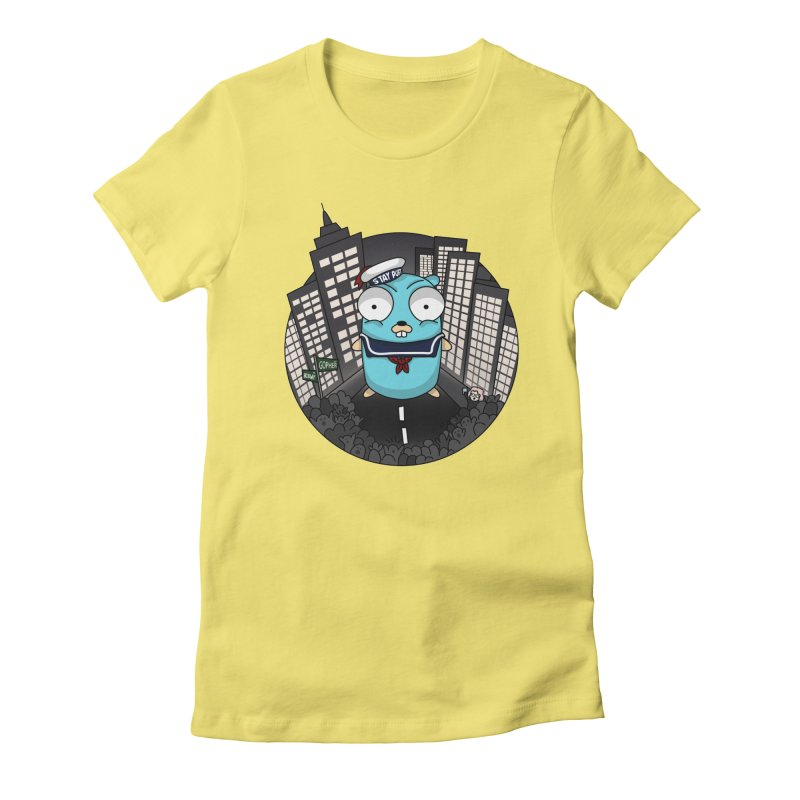 StayPuft Gopher Women's Fitted T-Shirt by Women Who Go