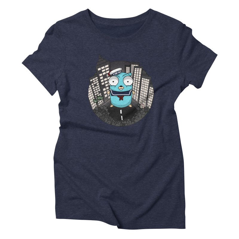 StayPuft Gopher Women's Triblend T-Shirt by Women Who Go