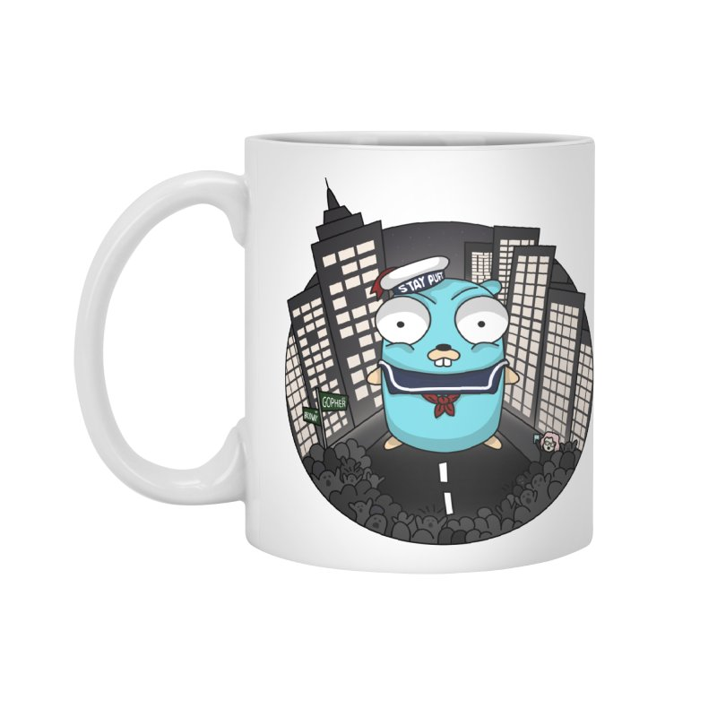 StayPuft Gopher Accessories Standard Mug by Women Who Go