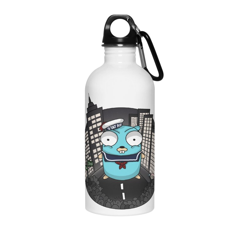 StayPuft Gopher Accessories Water Bottle by Women Who Go