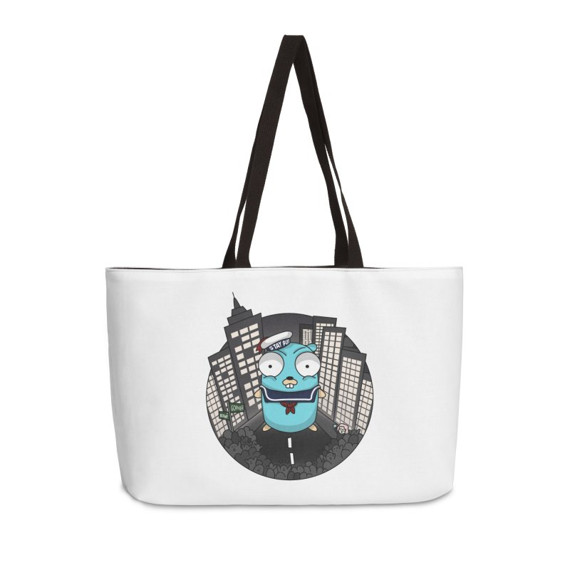 StayPuft Gopher Accessories Weekender Bag Bag by Women Who Go