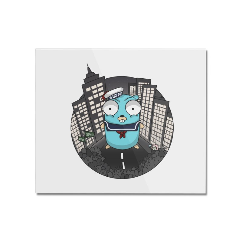 StayPuft Gopher Home Mounted Acrylic Print by Women Who Go