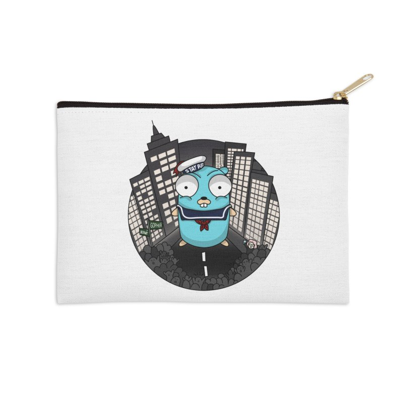 StayPuft Gopher Accessories Zip Pouch by Women Who Go