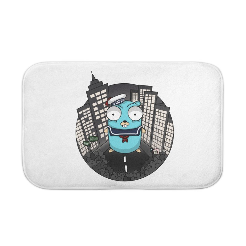 StayPuft Gopher Home Bath Mat by Women Who Go