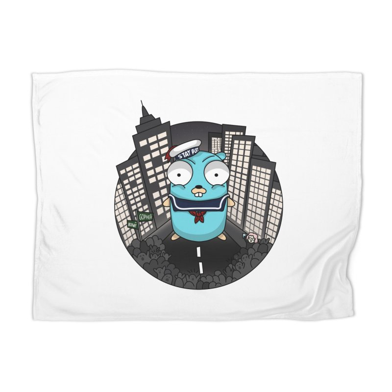 StayPuft Gopher Home Blanket by Women Who Go