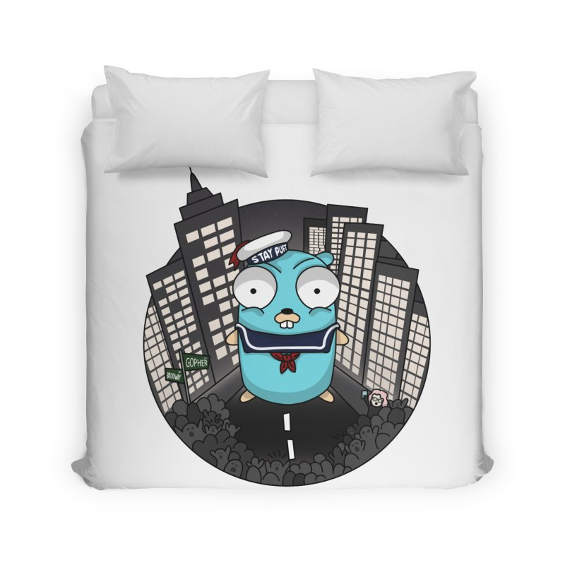 StayPuft Gopher Home Duvet by Women Who Go