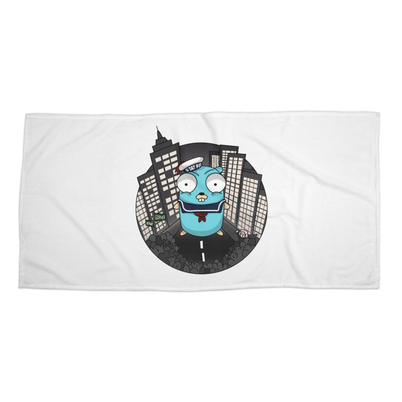 StayPuft Gopher Accessories Beach Towel by Women Who Go