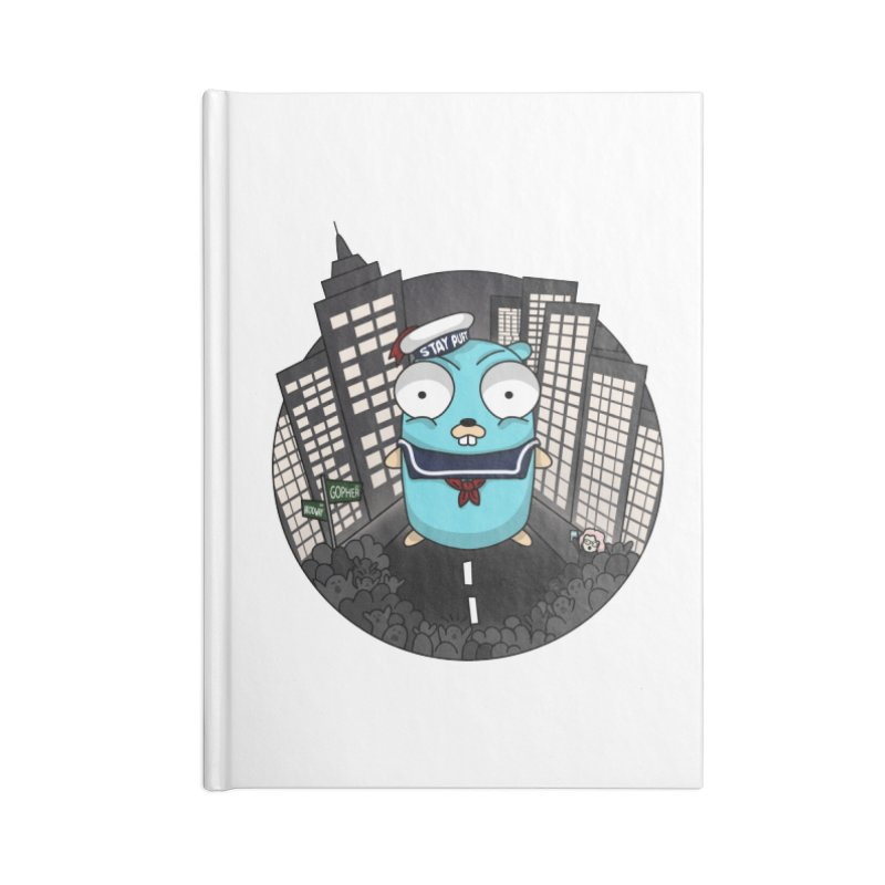 StayPuft Gopher Accessories Lined Journal Notebook by Women Who Go