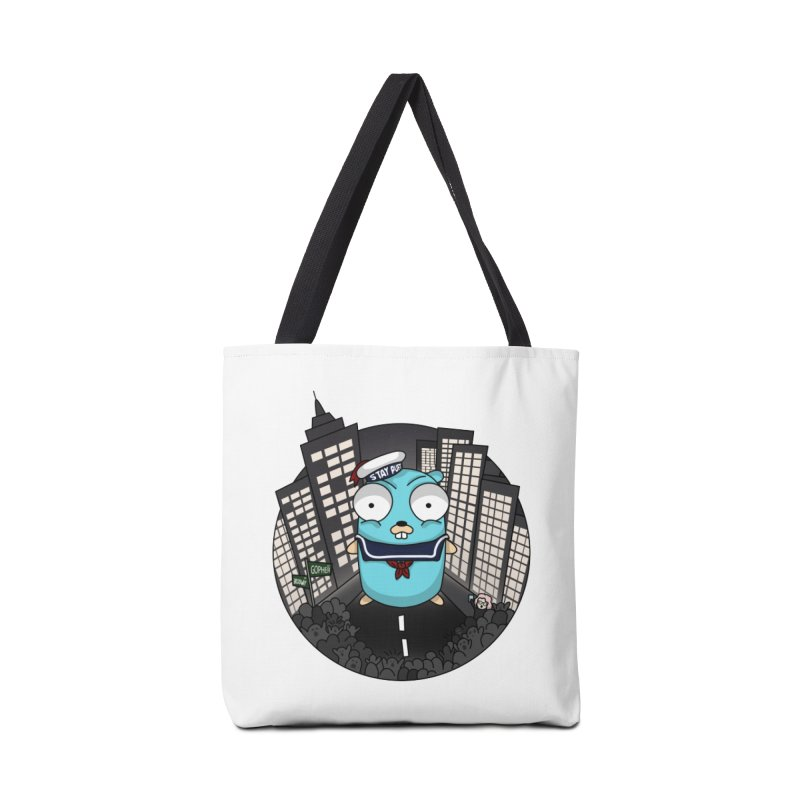 StayPuft Gopher Accessories Tote Bag Bag by Women Who Go