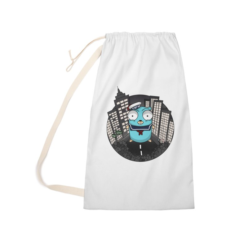 StayPuft Gopher Accessories Laundry Bag Bag by Women Who Go