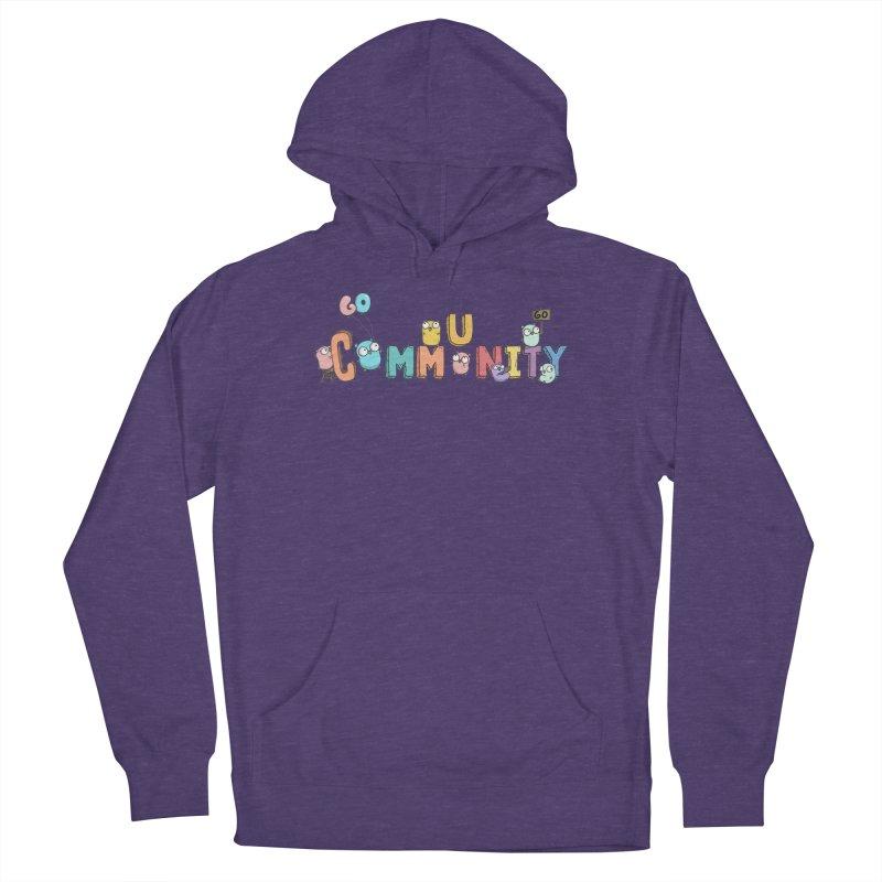 Go Community Men's Pullover Hoody by Women Who Go