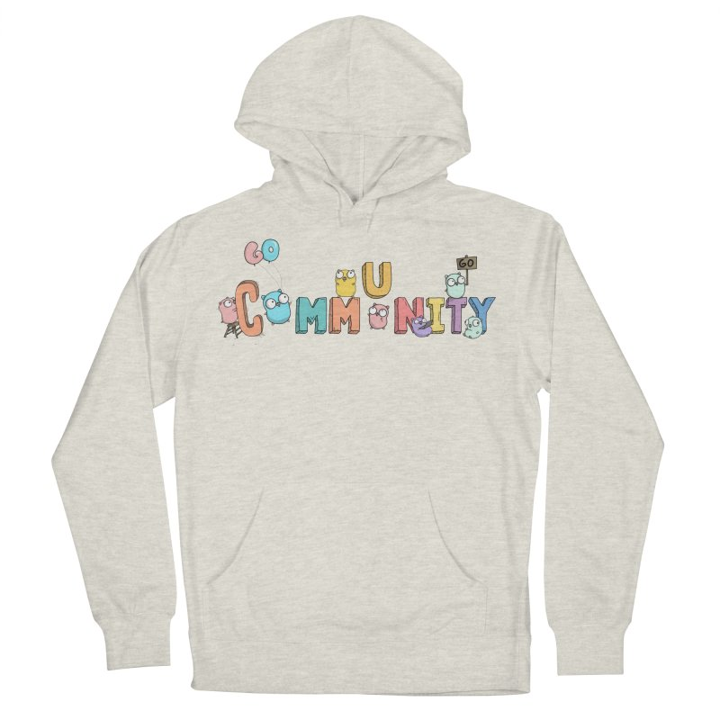 Go Community Men's French Terry Pullover Hoody by Women Who Go
