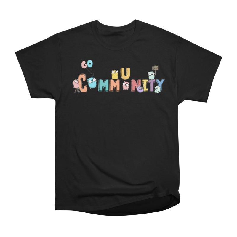 Go Community Men's Heavyweight T-Shirt by Women Who Go