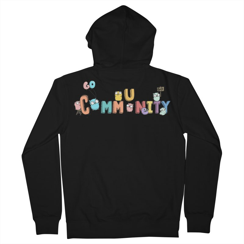 Go Community Women's French Terry Zip-Up Hoody by Women Who Go