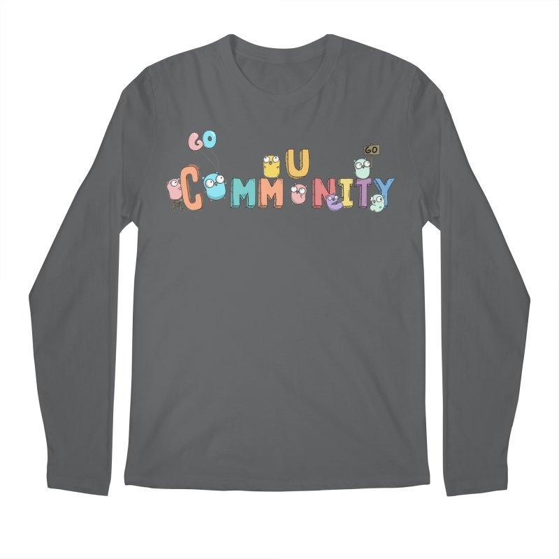 Go Community Men's Regular Longsleeve T-Shirt by Women Who Go