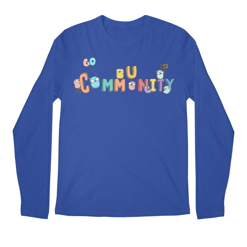 Go Community Men's Regular Longsleeve T-Shirt by Women Who Go