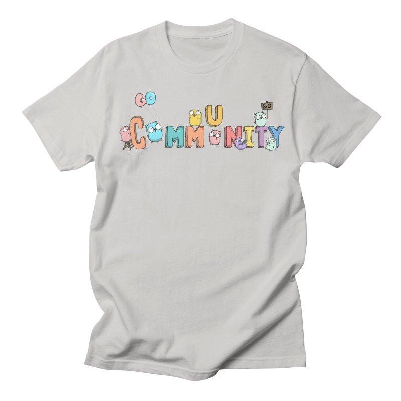 Go Community Men's Regular T-Shirt by Women Who Go