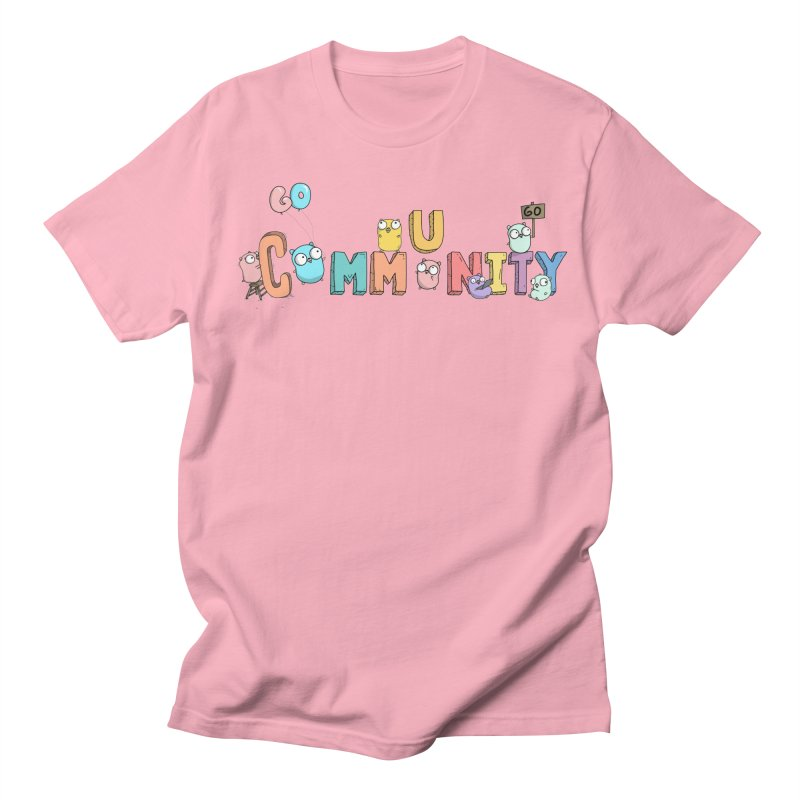Go Community Women's Regular Unisex T-Shirt by Women Who Go