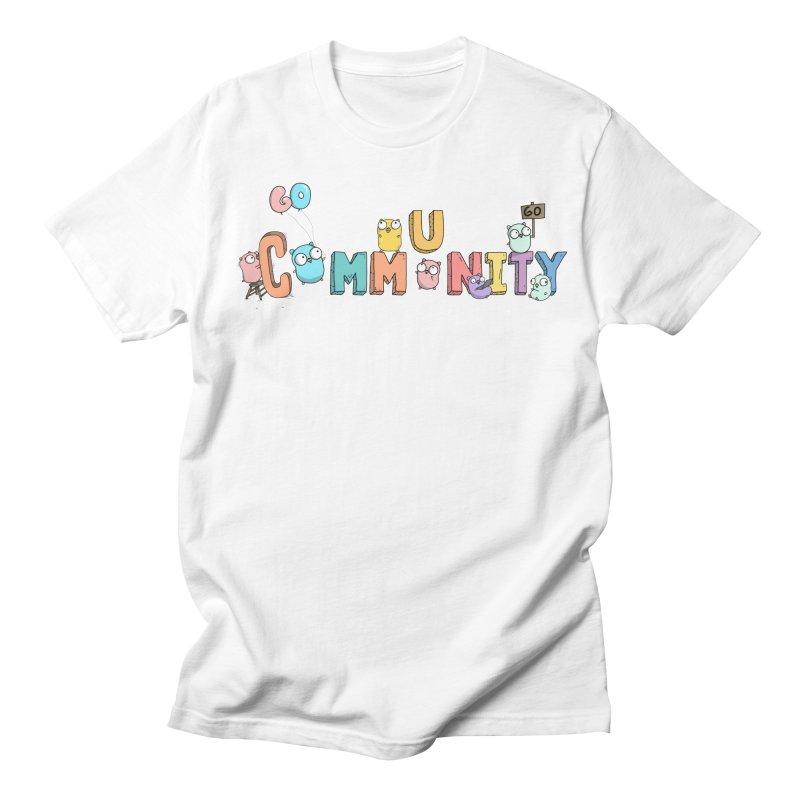 Go Community Women's Regular Unisex T-Shirt by Women Who Go