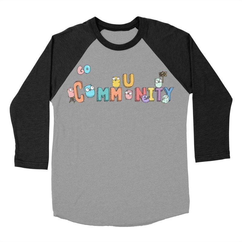 Go Community Women's Baseball Triblend T-Shirt by Women Who Go