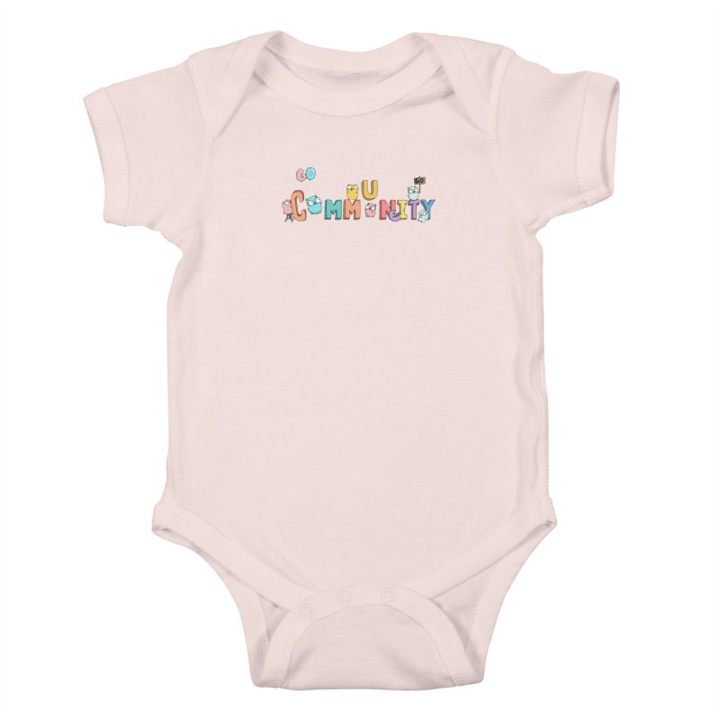 Go Community Kids Baby Bodysuit by Women Who Go