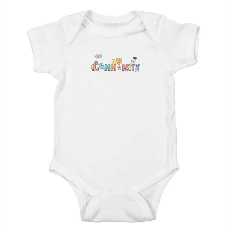 Go Community Kids Baby Bodysuit by Women Who Go
